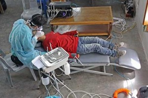 A-dec Pac-1 portable dental unit performs brilliantly in the Himalayas