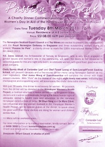 Fund Raising Event – Passion in Pink