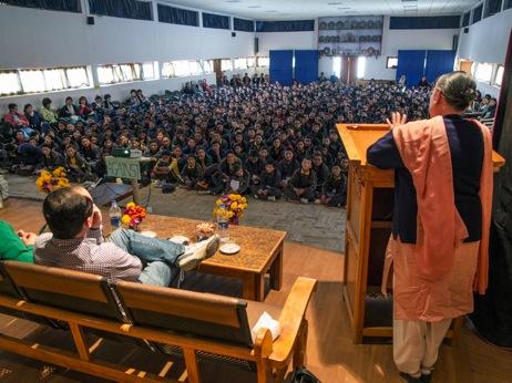 Dr Quek joined his distinguished Ladakhi colleague