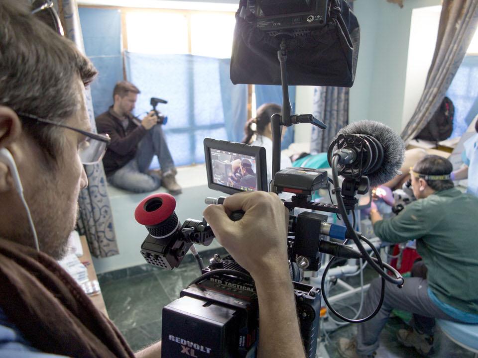 18. LG team filming Y's sisterA
